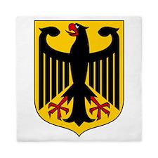German Coat Of Arms Queen Duvet