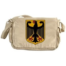German Coat of Arms Messenger Bag