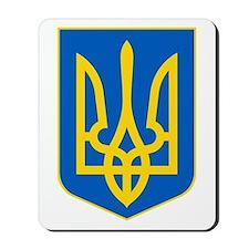 Ukraine Coat of Arms Mousepad