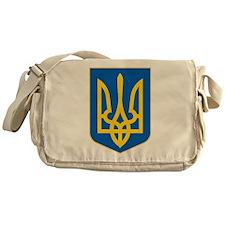 Ukraine Coat of Arms Messenger Bag