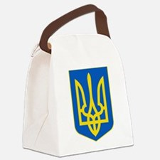 Ukraine Coat of Arms Canvas Lunch Bag