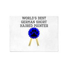 Worlds Best German Shorthaired Pointer 5'x7'Area R