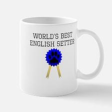 Worlds Best English Setter Mugs