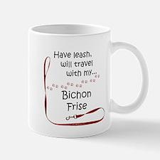 Bichon Travel Leash Mug