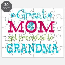 Great Mom Promoted to Grandma Puzzle