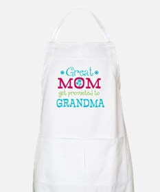 Great Mom Promoted to Grandma Apron
