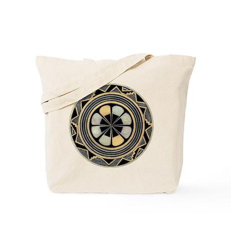 MIMBRES ROSE BOWL DESIGN Tote Bag