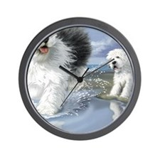 Old English Sheepdo... Wall Clock