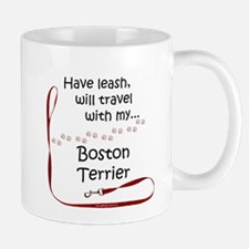 Boston Travel Leash Mug