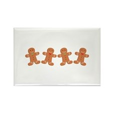 Gingerbread Cookies Border Magnets