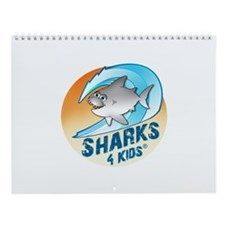Sharks4kids Wall Calendar