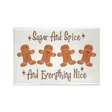 *Sugar And Spice* * And Everything Nice* Magnets