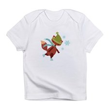 Skating Fox Infant T-Shirt