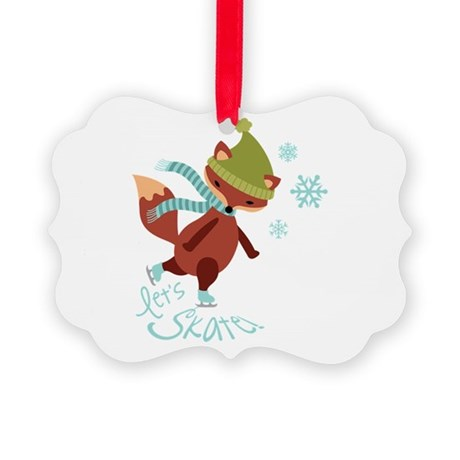 Lets Skate! Ornament