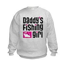 Daddy's Fishing Girl Sweatshirt
