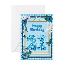 21st Birthday with a scrapbooking theme Greeting C