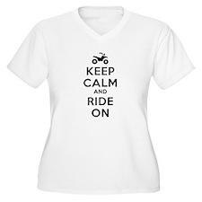 Keep Calm Ride On T-Shirt