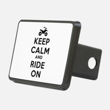 Keep Calm Ride On Hitch Cover