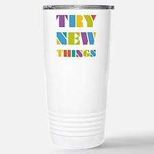 Try New Things Travel Mug