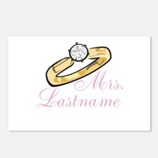 Personalized Mrs. Postcards (Package of 8)