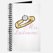 Personalized Mrs. Journal