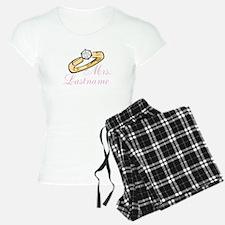 Personalized Mrs. pajamas