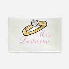 Personalized Mrs. Rectangle Magnet