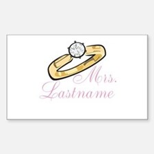 Personalized Mrs. Decal