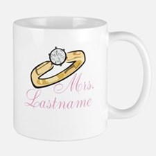 Personalized Mrs. Mug