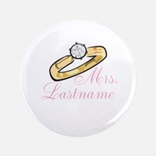 """Personalized Mrs. 3.5"""" Button"""