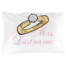 Personalized Mrs. Pillow Case