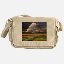 Approaching Storm Clouds Messenger Bag