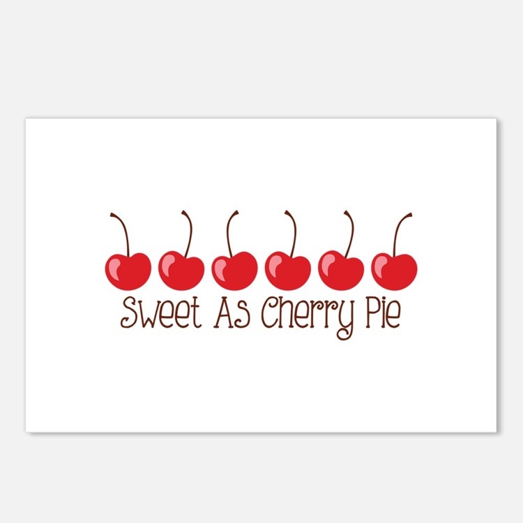 Sweet As Cherry Pie Postcards (Package of 8)