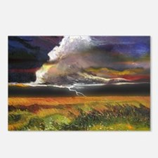 Approaching Storm Clouds Postcards (Package of 8)