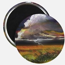 Approaching Storm Clouds Magnet
