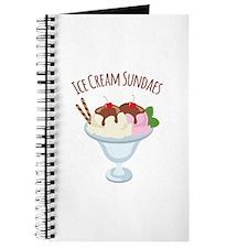 Ice Cream Sundaes Journal