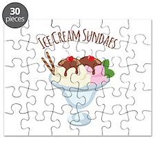 Ice Cream Sundaes Puzzle