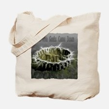 When The Gods Came Down Tote Bag