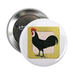 Whitefaced Spanish Rooster Button