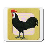Whitefaced Spanish Rooster Mousepad