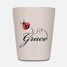 Ladybug Grace Shot Glass