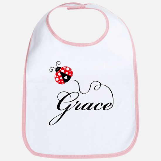 Ladybug Grace Bib
