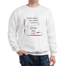 Shiba Travel Leash Sweatshirt