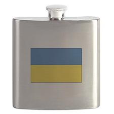 Flag of Ukraine Flask