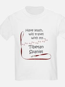 Tibbie Travel Leash T-Shirt