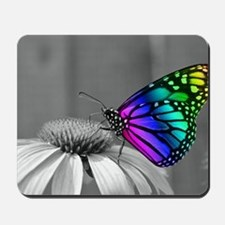 Flower with Butterfly Mousepad