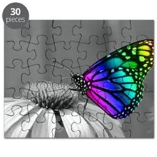 Flower with Butterfly Puzzle
