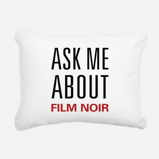 askfilmnoir.png Rectangular Canvas Pillow