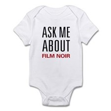 Ask Me About Film Noir Infant Bodysuit