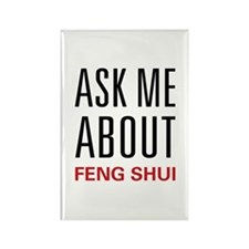 Ask Me Feng Shui Rectangle Magnet